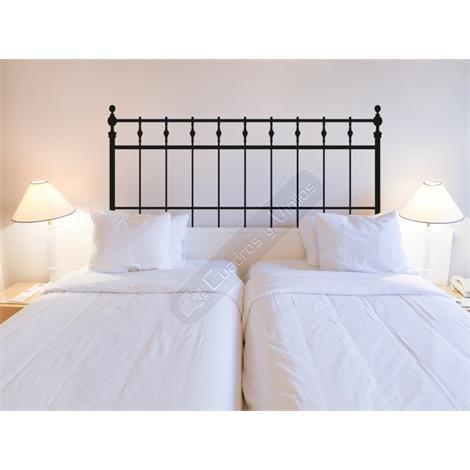 34 best vinilo cabeceros cama images on pinterest bed for Vinilo cabecero cama