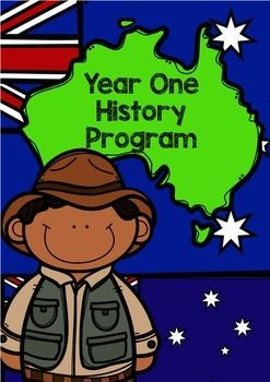 History Program: Year OneA 10-week detailed history program based on Australian Curriculum (2015) outcomes for year one students.