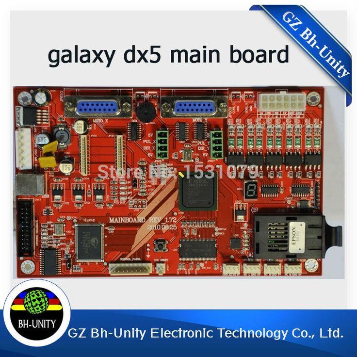419.00$  Buy here - http://ali9wm.worldwells.pw/go.php?t=32789215557 - high quality galaxy leopard digital printer spare part galaxy DX5 main board for Galaxy DX5 Printhead Eco solvent printer 419.00$