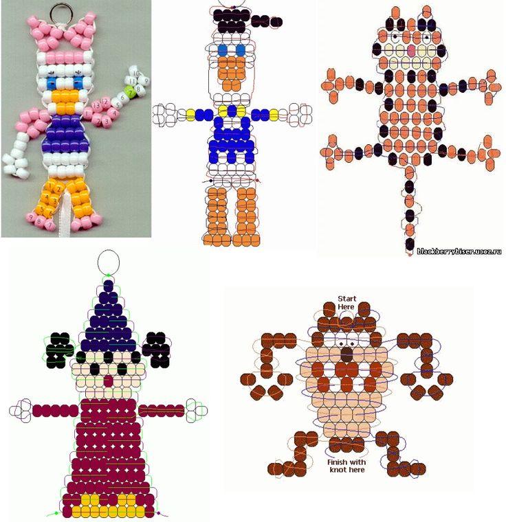 sandylandya@outlook.es Characters Seed Bead Patterns