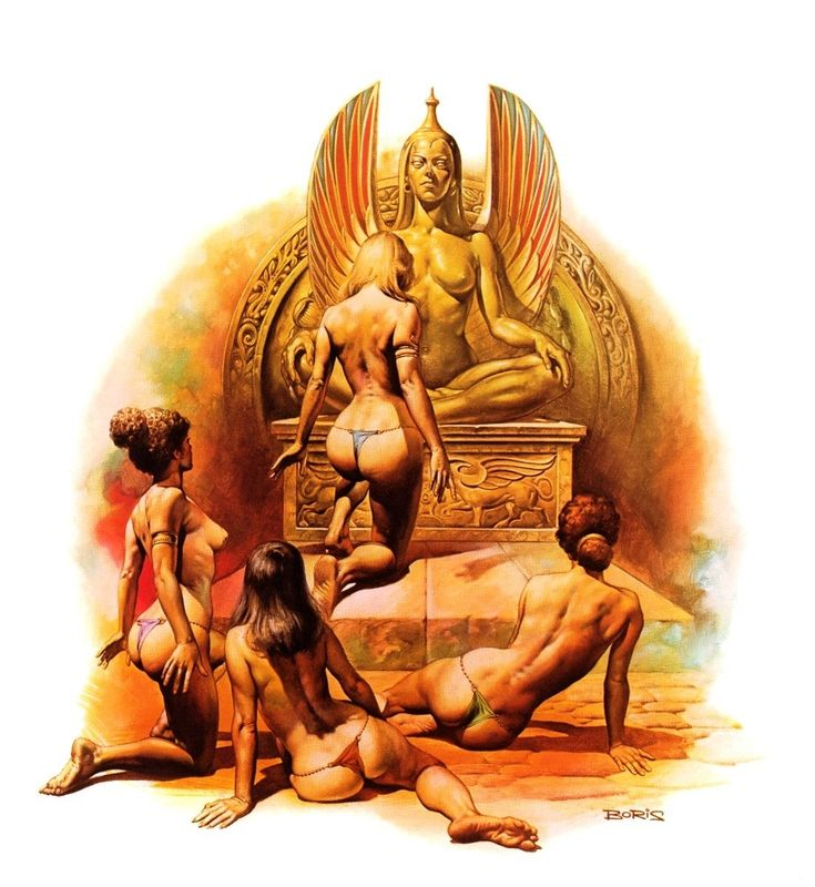 Slaves of the Empire / 2 / Haesel the Slave / 1978 (Boris Vallejo)