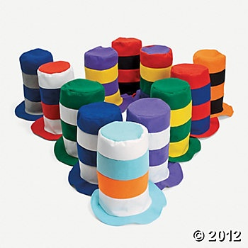 Stovetop Hats: Ideas, Carnival, Parties, Seuss, Costume, Stovepipe Hats, Kid, Birthday Party