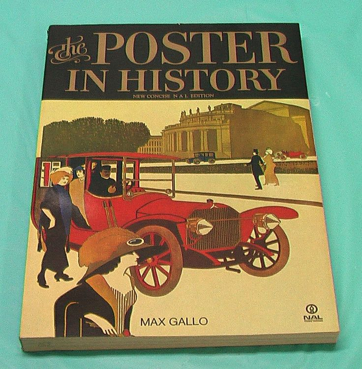 Soft Cover Book Poster In History Art Artist Max Gallo Vintage Military Vintage