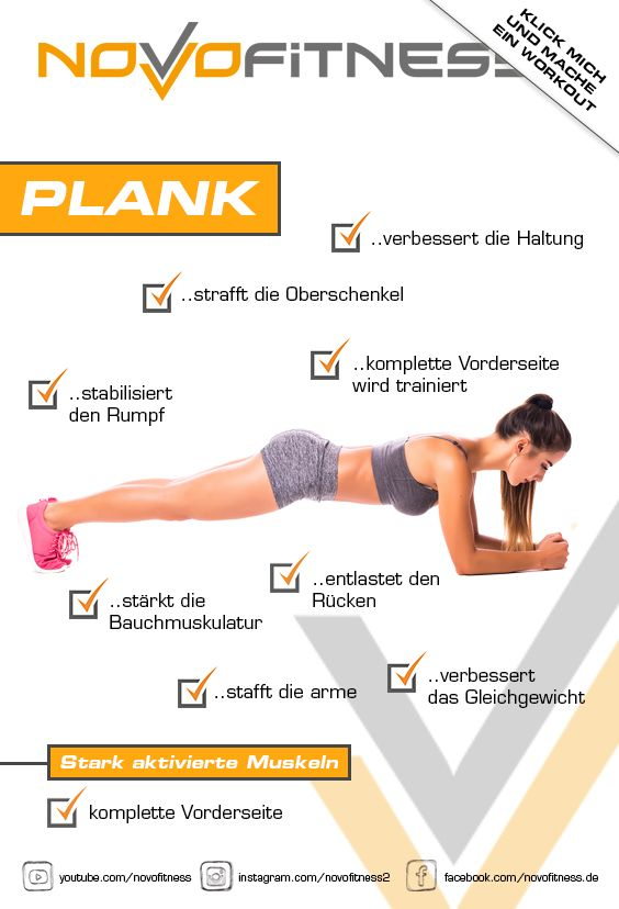 Plank | forearm support – Fitness