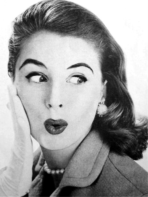 Suzy Parker in 1955. Image via Pinterest.