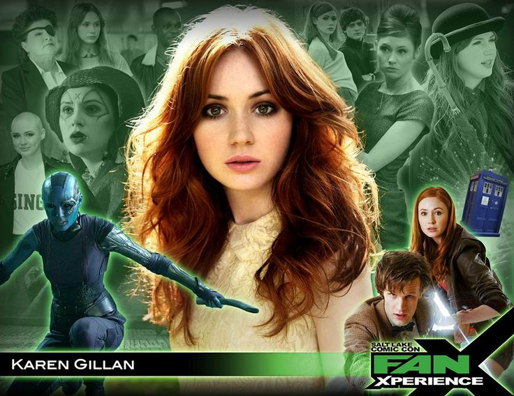 NEW GUEST ANNOUNCEMENT: Welcome actress Karen Gillan to #FanX! She's Amy Pond in #DoctorWho & Nebula in the upcoming movie, #GuardiansoftheGalaxy.