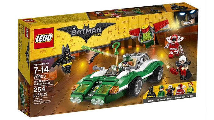 LEGO BATMAN MOVIE:AUTO ENIGMISTA THE MOVIE - COSTRUZIONI - Tutte le ultime novità dal mondo LEGO in pronta consegna su Vendiloshop.it #lego #offerte #giocattoli #vendiloshop