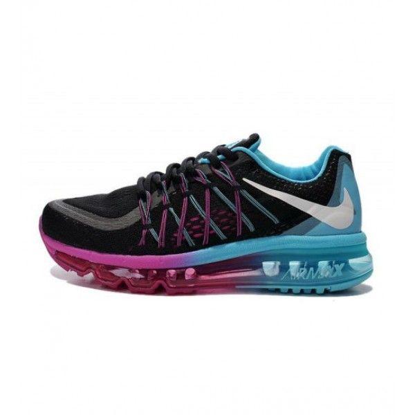Buy Nike Air Max 2015 - Best Air Max 2015 Men Nike Shoes Black Purple Blue