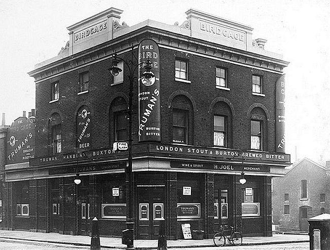 The Bird Cage Pub circa 1930 (Landlord H Joel)