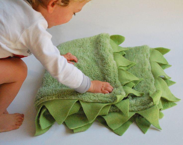 Green Dragon Cuddle Blanket $50