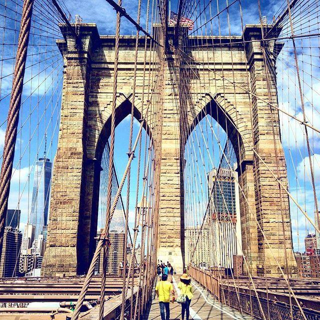 The NYC postcard #nyc #brooklynbridge #manhattan #usa #newyork #travelusa #newyork_instagram #путешествие #США #Америка #Ньюйорк #мост #Бруклин #бруклинскиймост #бруклинбридж
