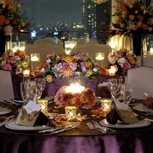 candles for the table