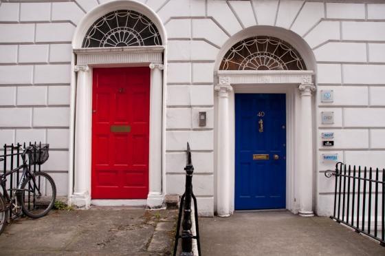 Dublin doors.