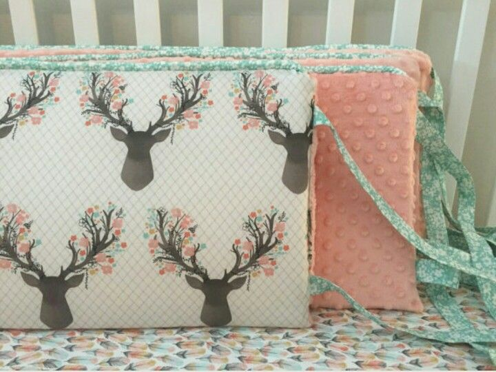 Crib bumper and sheet