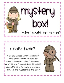 This is a fun way to engage students in a lesson, begin a new unit, or use as an activity for inferencing!  It can be used with ANY content area or...