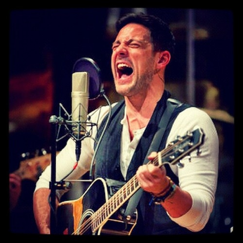 Tony winner Steve Kazee from Once the Musical. Wish I could have seen him while he was still playing Guy! Arthur darvill did a magnificent job though.
