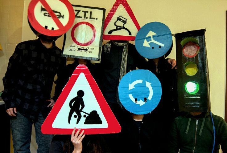 #group costume #traffic signals #cartelli #carnival #carnevale