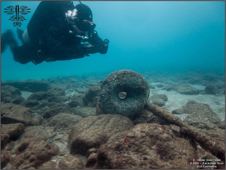 Дайвинг в Израиле — Средиземное море — Древняя Кейсария | 07.12.2013 | Diving in Israel (3)