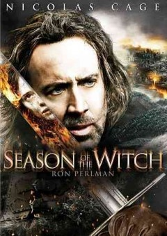 Season Of The Witch (DVD)--2 14th century Crusaders return to a home devastated by the Black Plague. The church commands the 2 knights to transport an accused witch to a remote abbey, where monks will perform a ritual in hopes of ending the pestilence. A priest, a grieving knight, a disgraced itinerant and a headstrong youth who can only dream of becoming a knight join a mission troubled by mythically hostile wilderness and fierce contention over the fate of the girl.