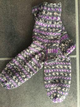 Socken stricken – Alles mit Herz