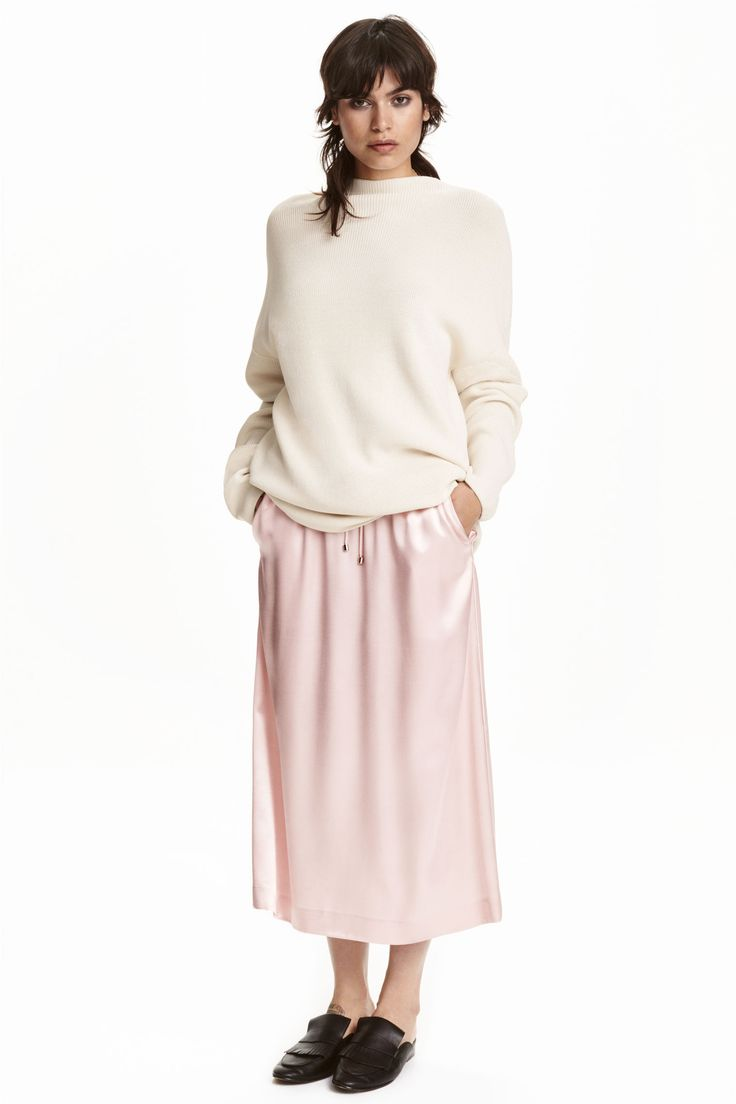Satin skirt | H&M