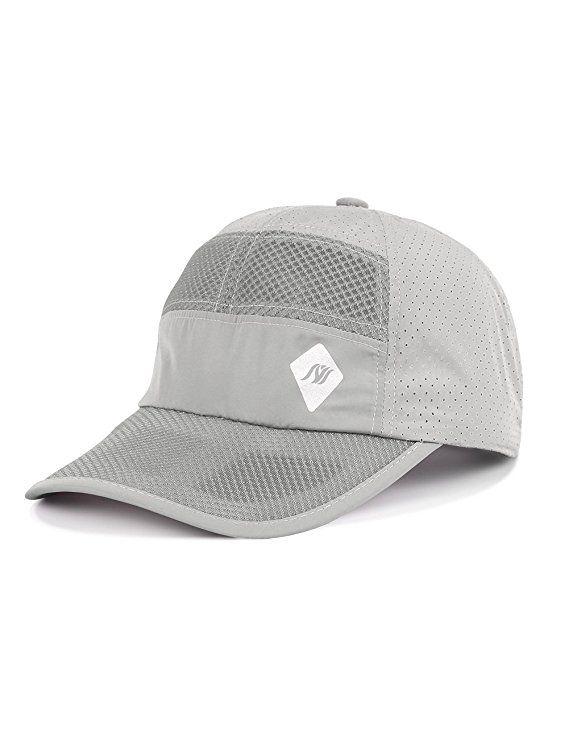 d6c9110a9a0 Summer Baseball Caps Breathable Mesh Sun Hat Adjustable Hats for Women Men  Outdoor Sports Running