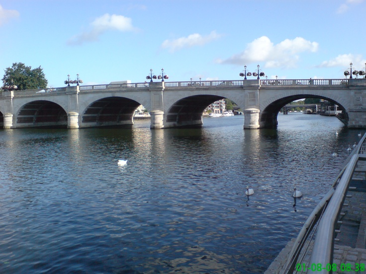 Kingston-upon-Thames, bridge. I've had many days out shopping, drinks by the Thames and nights out clubbing here.