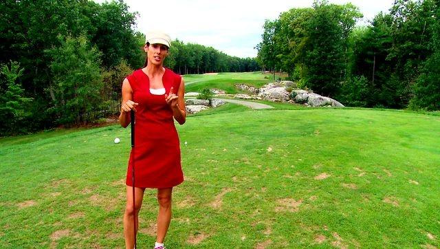 Christina Ricci plays ... Christina Ricci Golf