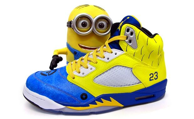 "Air Jordan 5 ""Air Minion"" Custom"