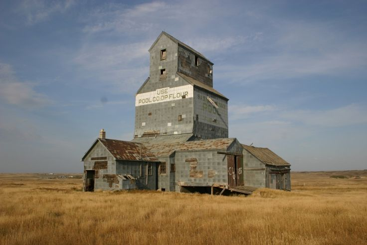 Old Saskatchewan Wheat Pool Grain Elevator - Rural & Agriculture - Photos - Anywhere.ca