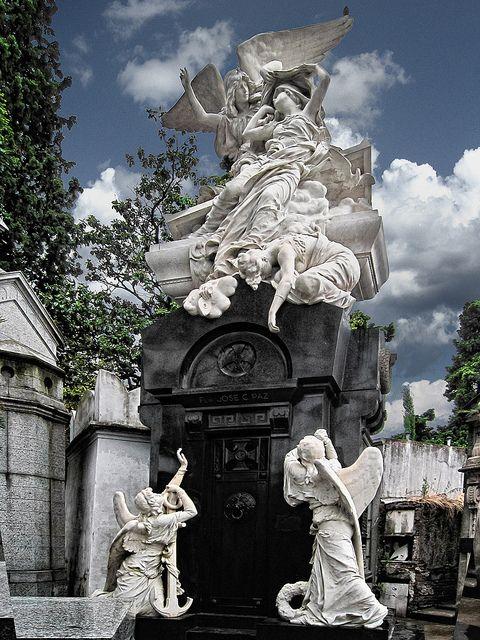 La Recoleta Cemetery,  Buenos Aires, Argentina by Cickr Bee