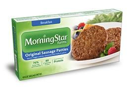 """Morningstar Farms """"Breakfast Patties Made With Organic Soy"""" [Robert Ferguson's favorite] is one of the few Morningstar Farms product that does not contain genetically modified organisms, or GMOs. Most of the other Morningstar Farms products contain some GMO ingredients; however, they are aggressively moving to remove GMOs. #dietfreelife www.Mydietfreelife.com"""