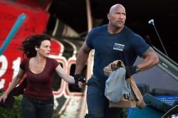 Check out Dwayne Johnson in action in the first images from his new film San Andreas