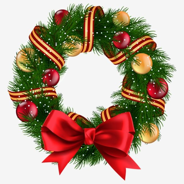 Christmas Wreath Ribbon Wreath Christmas Christmas Drawing Christmas Wreaths