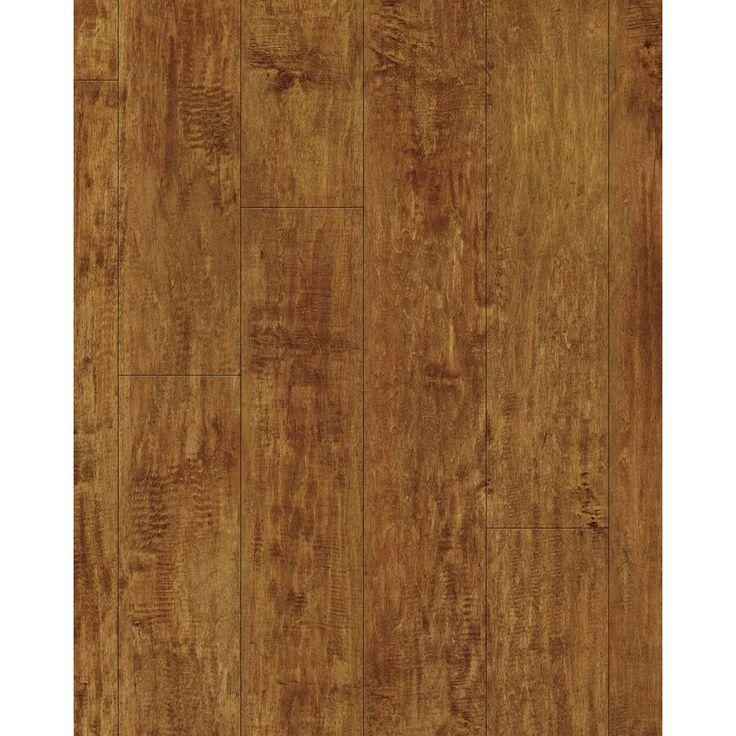 Kronotex 4.96-in x 50.8-in Handscraped Heritage Maple Laminate Flooring | Lowe's Canada