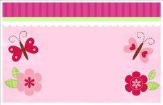 Invitaciónes de baby shower de mariposas - Imagui