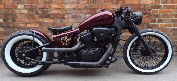 Honda Shadow VT600 Bobber by Voodoo Custom Cycles.    http://voodoo-cc.co.uk/