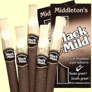 Black and Mild Cigars are a popular Pennsylvania made plastic tip  cigars brand. They are created with Middleton's pipe tobacco for a smooth, mild smoke. Black and Mild Cigars are available in several flavors too like apple and cream. The experience is unique, worthy of anyone who already enjoys these cigars. #blackandmild #blacknmild #cigarillos #machinemade #middletons