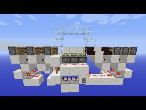 3-Wide Seamless Hidden Staircase Entrance | Minecraft | +Uma - YouTube  sc 1 st  Pinterest & 8 best Minecraft Tripwire Hook to Make Trap images on Pinterest ...