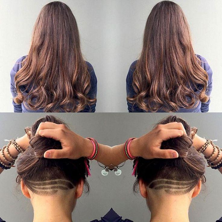 Undercut Hair Up And Down
