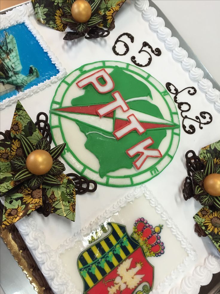 Tort dla PTTK z okazji 65 lecia oddziału w Chrzanowie