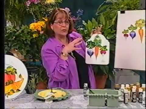 Donna Dewberry One Stroke: Workshop Series Video Volume 2 - [2002 | VHS SLP | 60FPS] - YouTube