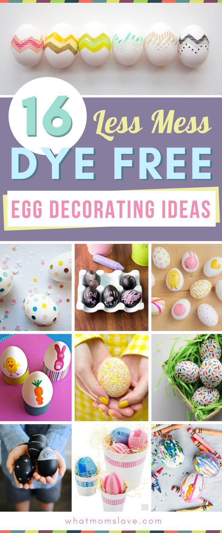 Easter Egg Decorating Ideas For Kids 70 Creative Ways To Decorate Your Eggs Egg Decorating Easter Fun Easter Eggs