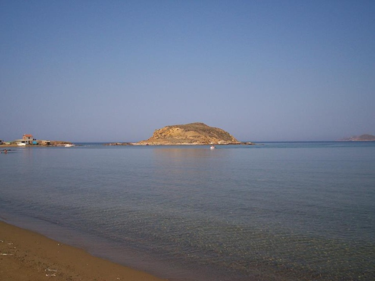 calm waters at Lemnos Greece