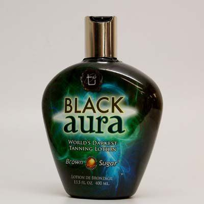 2011 Brown Sugar BLACK AURA Bronzer Tanning Lotion - Tan Incorporated 13.5 oz. by Tan Incorporated. Save 63 Off!. $25.99. Argan Oil of Morocco. Max Silicones. BioBronzingTM complex. This ultra-dark lotion eclipses tanning plateaus with new magnitudes of color. An omnipotent BioBronzingTM complex combines a fusion of natural bronzers, DHA, and now Max Silicones, to achieve ultimate non-cosmetic color with an absolutely lush softness. Double amounts of Argan Oil of Morocco provide exalted s...