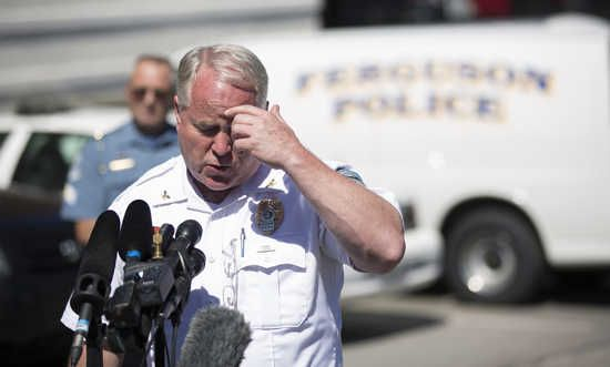 Ferguson police beat a man and then charged him with 'destruction of property' for bloody uniforms  by Jen Hayden