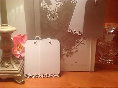 Heart Design Wedding Luggage Labels Tags Save The Date, Name Cards Etc in Home, Furniture & DIY | eBay