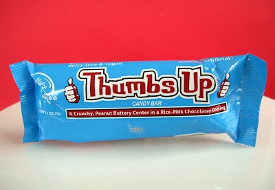 Go Max Go Foods Thumbs Up Candy Bar.