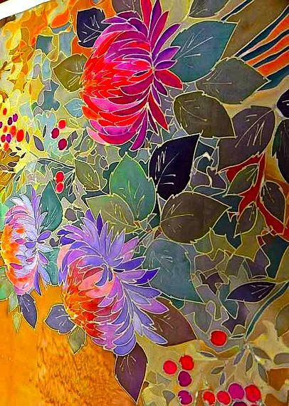 185 Best Batik Silk Painting Images On Pinterest