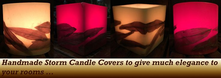 Candle Covers - OnlyHandmade